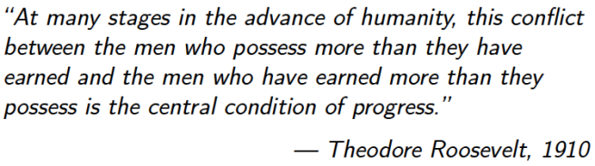 Theodore Roosevelt New Nationalism Speech