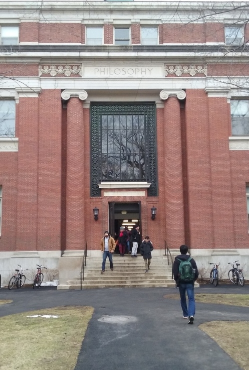 Emerson Hall Side Entrance