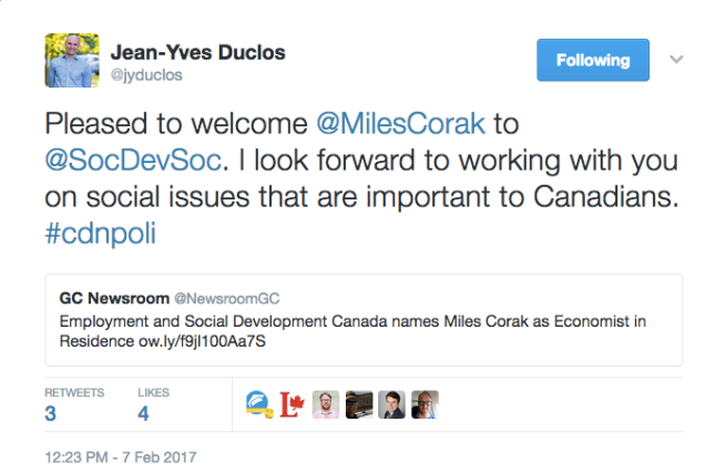 duclos-tweet-economist-in-residence